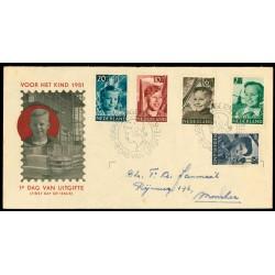 1951 Nederland FDC | Kind