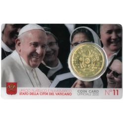 Vaticaan Coincard 50 Cent 2020 Nr. 11