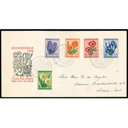 1953 Nederland FDC | Zomer