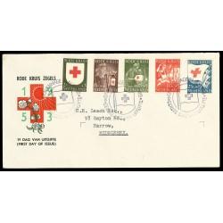 1953 Nederland FDC | Rode Kruis