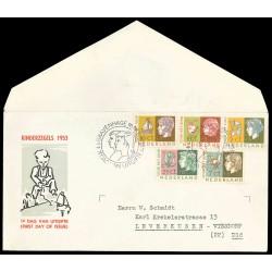 1953 Nederland FDC | Kind