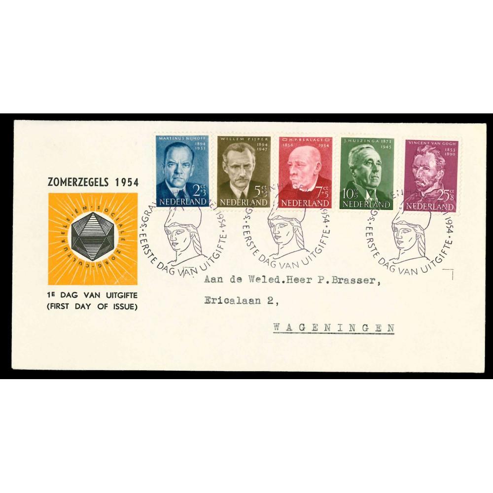 1954 Nederland FDC   Zomer