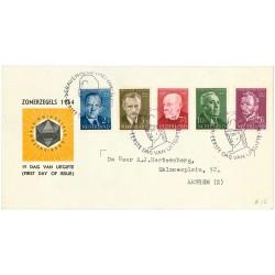 1954 Nederland FDC | Zomer