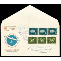 1954 Nederland FDC | Luchtvaartfonds