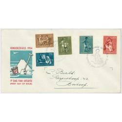 1954 Nederland FDC | Kind
