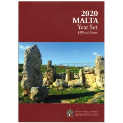 Malta BU-Set 2020 incl. 2 euro 'Skorba Tempels' met F in ster