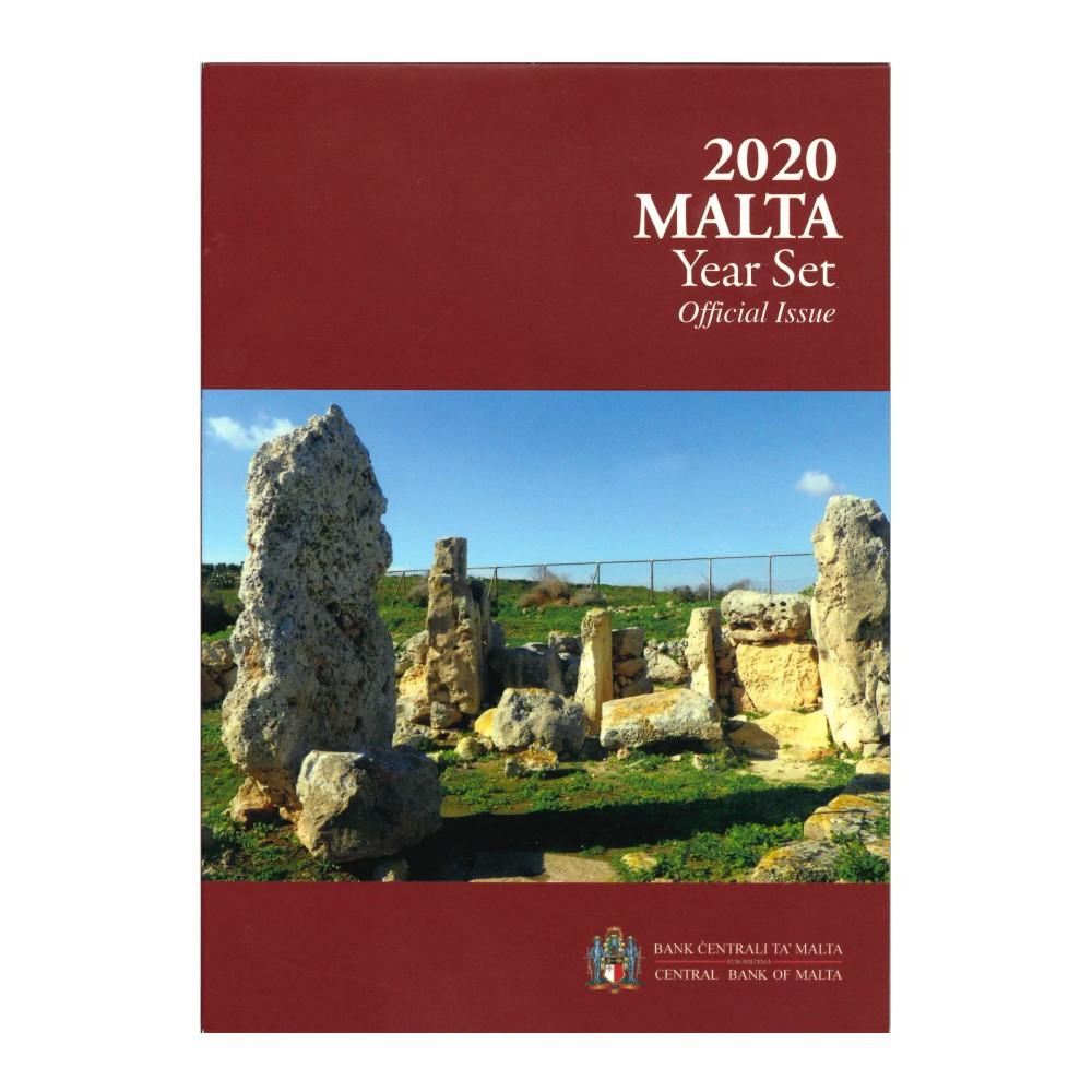 Malta BU-Set 2020 Inclusief 2 Euromunt met F in ster
