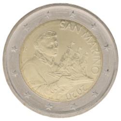 San Marino 2 euro 2020 circulatiemunt