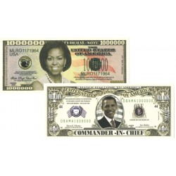 USA dollar set 'The Obama's'