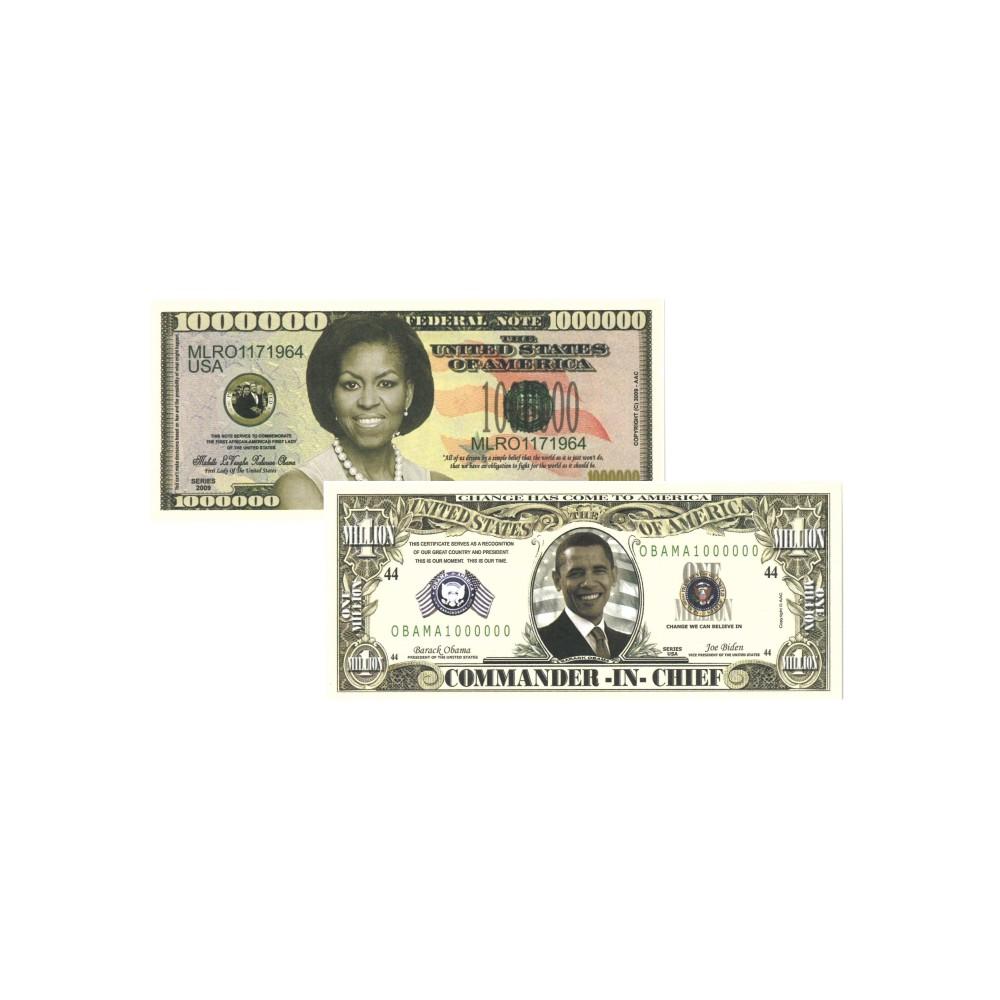 USA dollar set 'The Obama's'