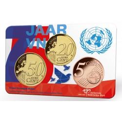 Nederland Coincard 2020 '75 jaar Verenigde Naties' Leverbaar eind oktober