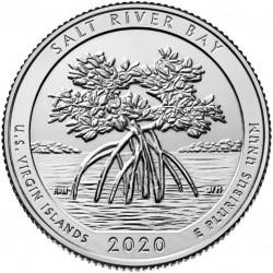 USA Quarter 2020 'Salt River Bay'