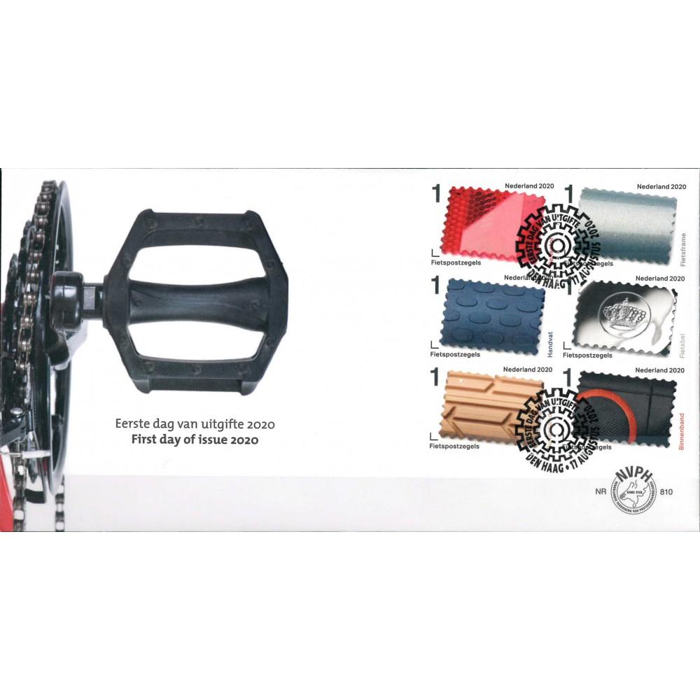 2020 Nederland FDC | Fietspostzegels
