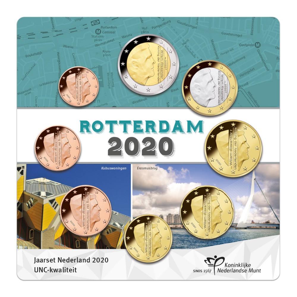 Nederland Jaarset 2020 Rotterdam