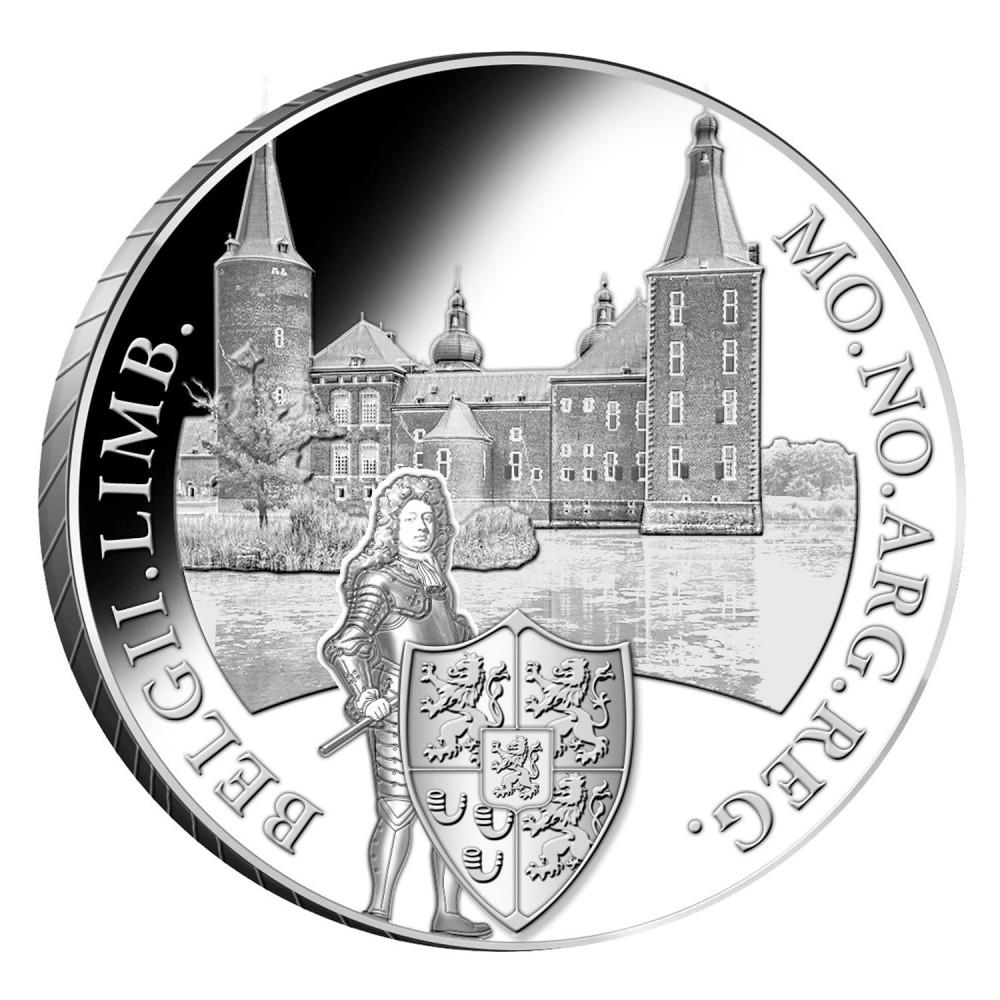 Koninkrijksmunten Nederland Zilveren dukaat 2020 'Kasteel Hoensbroek'