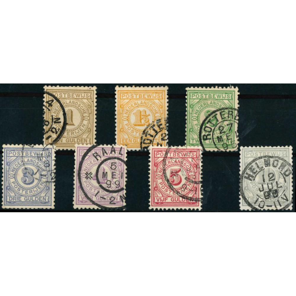 1884 Nederland Postbewijszegels | Cijfer