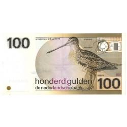 Nederland 100 Gulden 1977 'Snip'