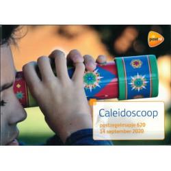 2020 Nederland postzegelmapje   Caleidoscoop