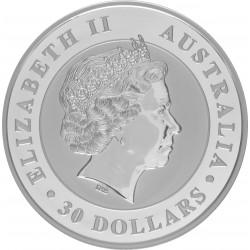 Australië 30 dollars  - 1 kilo 999 zilver