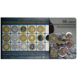Slowakije BU-Set 2020 'Numismatiek'