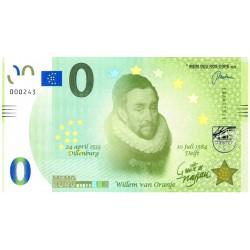 0 euro Nederland 2018 'Willem van Oranje'