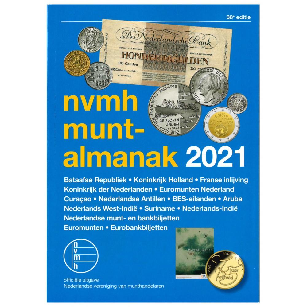 NVMH Muntalmanak 2021, incl. bankbiljetten en eurocatalogus