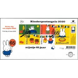 2020 Nederland FDC| Kinderpostzegels Nijntje 65 jaar