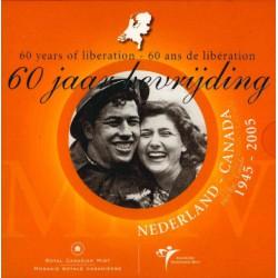 Nederland Themaset Bevrijding 2005 60 jaar bevrijd