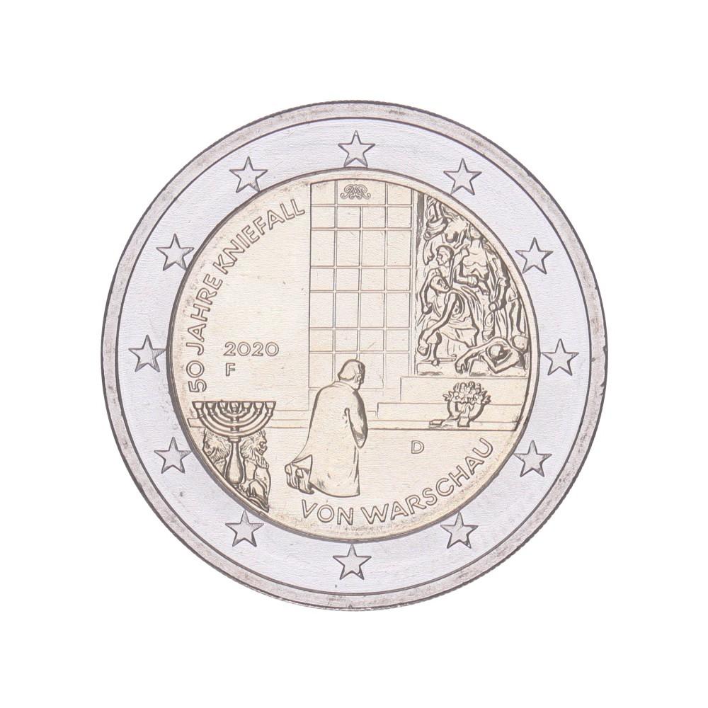 Duitsland 2 euro 2020 'Warschau'