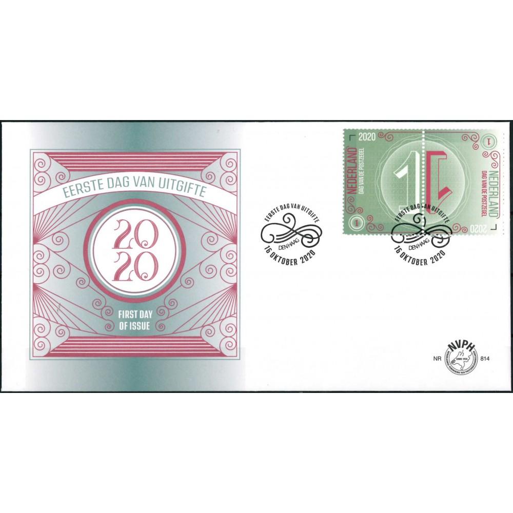 2020 Nederland FDC   Dag van de postzegel