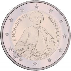 Monaco 2 euro 2020 'Geboortedag Honorius III'