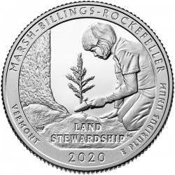 USA Quarter 2020 'Marsh Billings Rockefeller'