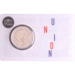 Frankrijk 2 euro 2020 'Medisch onderzoek' - BU-kwaliteit in coincard