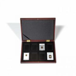 Muntencassette volterra voor 8 goudbaartjes in blisterverpakking