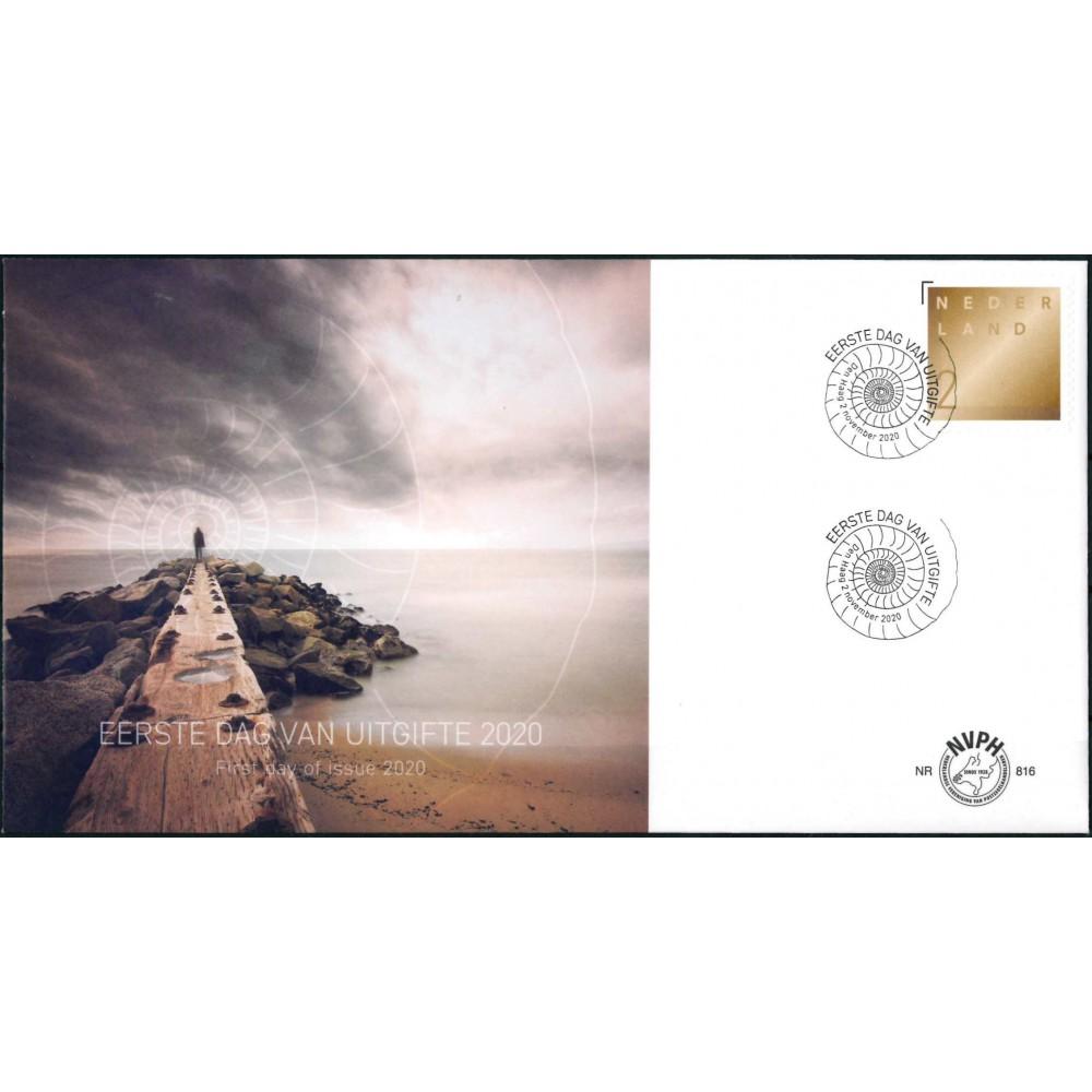 2020 Nederland FDC | Rouwpostzegel