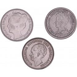 De drie halve guldens van Wilhelmina