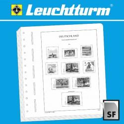 """Leuchtturm SF inhoud Duitsland 2015 - 2019 """"BRD"""""""