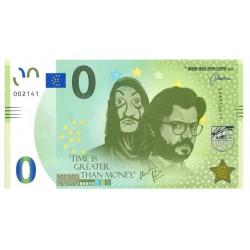 0 Euro Spanje 2020  'La Casa de Papel'