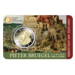 België 2 euro 2019 'Pieter Bruegel' BU in coincard