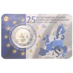 België 2 euro 2019 '25 jaar EMI' BU in coincard