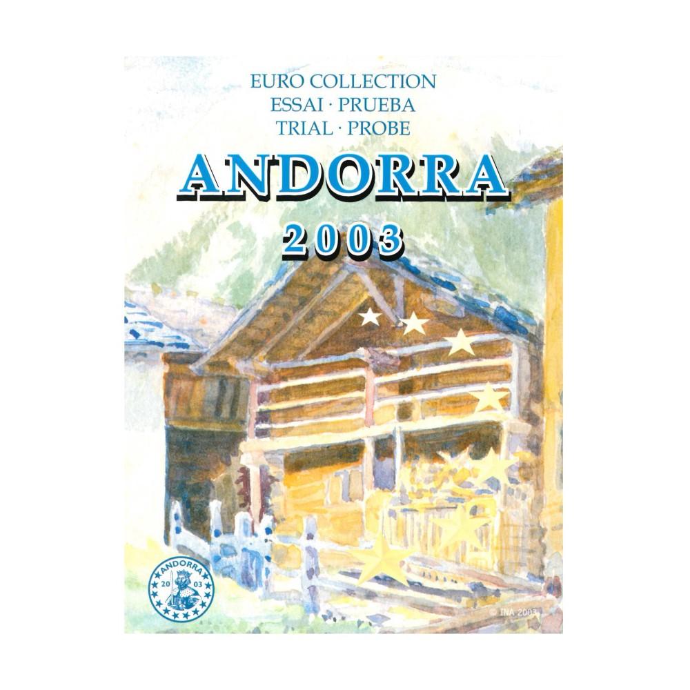Andorra blister 1c t/m 2 E 2003