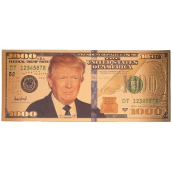 The United States Of America - 1000 Dollar 'Donald J. Trump'