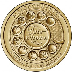 USA $1 Innovation Dollar 2020 'Telephone'