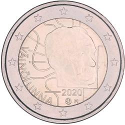 Finland 2 euro 2020 'Vaino Linna'