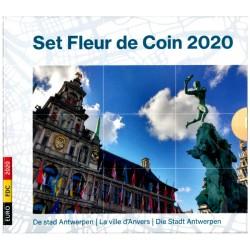 Belgie BU-set 2020 'de stad Antwerpen'