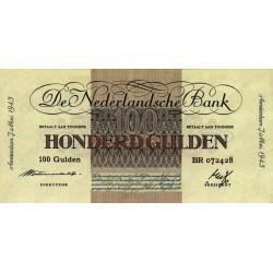 Nederland 100 Gulden 1945 'Geldzuivering'