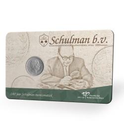 Nederland coincard 2020 '140 jaar Schulman'