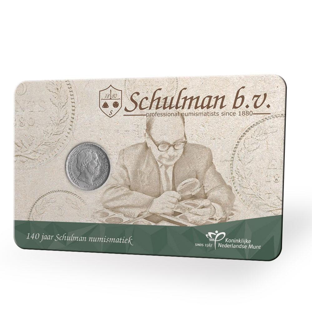 Nederland coincard 2020 '140 jaar Schulman. Max. 2 per klant.