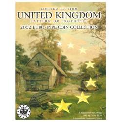 United Kingdom blister 1c t/m 2 E 2002