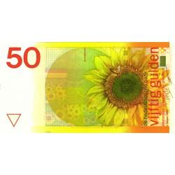 Nederland 50 Gulden 1982 'Zonnebloem'